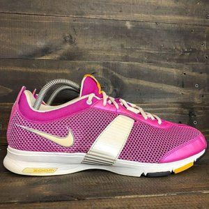 Nike Zoom Women's Size 11 Pink White Running Shoes